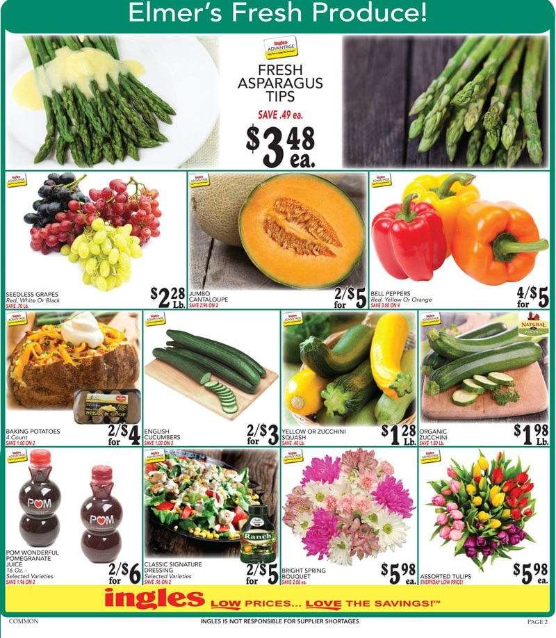Ingles Weekly Ad Sale April 11 - 17, 2018 | Daily Saving Deals
