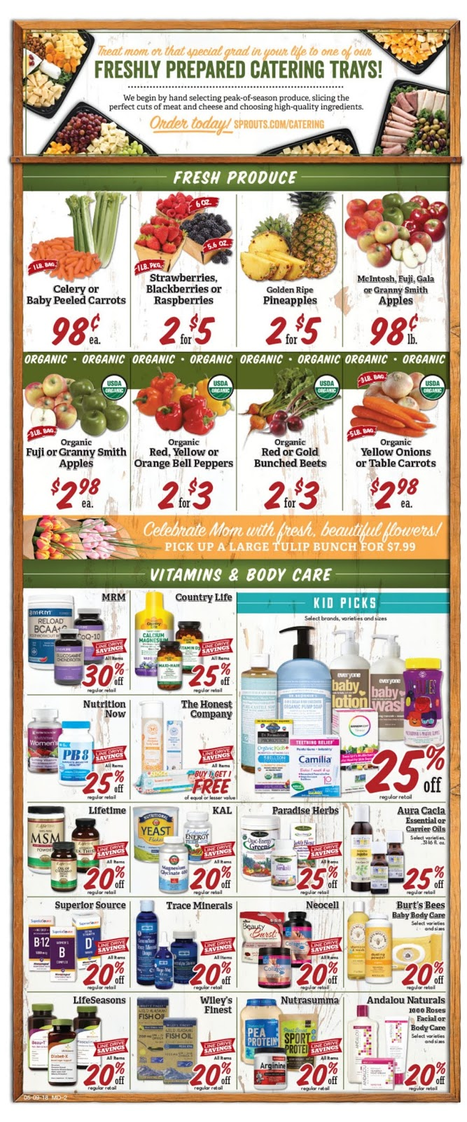 Sprouts Weekly Ad Flyer May 9 - 16, 2018 | Daily Saving Deals