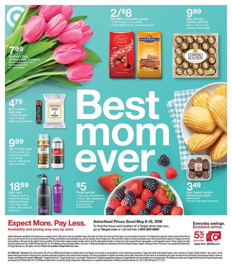 Target Weekly Ad May 6 12 2018 Daily Saving Deals
